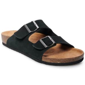 Sonoma Men's Willie Leather Sandals for $17