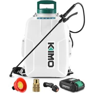 Kimo 3-Gallon Battery-Powered Backpack Sprayer for $180