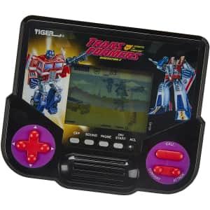 Tiger Electronics Transformers Robots Handheld Game for $8