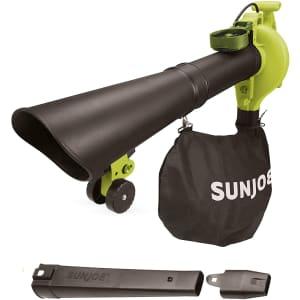 Sun Joe 14A 3-in-1 Electric Blower, Vacuum, & Mulcher for $50