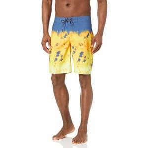 Quiksilver Men's Boardshort Swim Trunk, True Navy Everyday Rager 20, 28 for $45