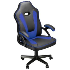 Leather Executive Swivel Gaming Chair for $50
