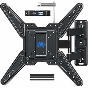 Mounting Dream Full Motion TV Wall Mount for Most 26-55 Inch TVs, Wall Mount for TV with Swivel for $29