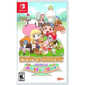 Story of Seasons: Friends of Mineral Town for Nintendo Switch for $35