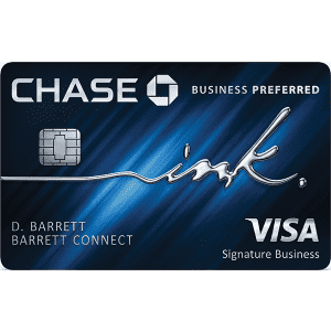 Chase Ink Business Preferred® Credit Card: Earn 100,000 bonus points