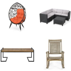 Christopher Knight Patio Furniture at Overstock.com: Extra 15% off