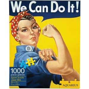 Aquarius Smithsonian Rosie the Riveter 1,000-Piece Jigsaw Puzzle for $5