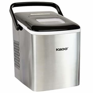 Igloo ICEB26HNSS Automatic Self-Cleaning Portable Electric Countertop Ice Maker Machine With for $229
