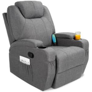 Best Choice Swivel Massage Recliner Chair for $370