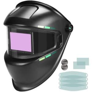 Ginour Auto Darkening Welding Helmet for $30