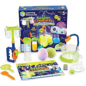 Learning Resources Beaker Creatures Monsterglow Lab for $25