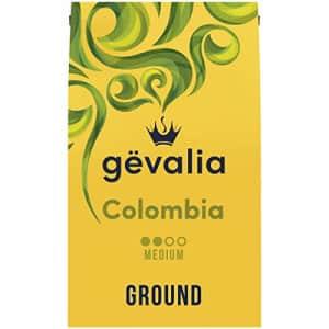 Gevalia Colombia Medium Roast Ground Coffee (20 oz Bag) for $10