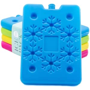 Blue Ele Ice Pack for Lunch Box and Cooler 4-Pack for $11