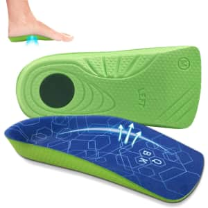QBK Unisex Shoe Inserts from $8.67 w/ Prime