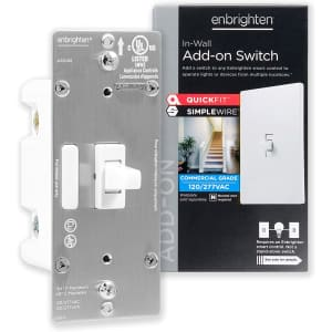 GE Enbrighten Add-On Switch QuickFit for $5