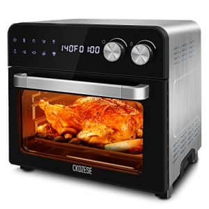 KBS 8-In-1 Cool Touch Stainless Steel Digital Convection Toaster Oven, Dehydrator/Bake/Broil/Roast for $150