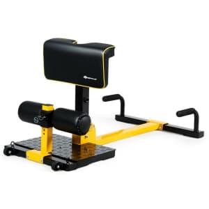 GoPlus 8-in-1 Multifunctional Squat Machine for $99