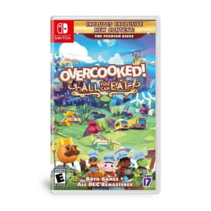 Overcooked! All You Can Eat for Switch, Xbox Series X, PS4, and PS5 for $30