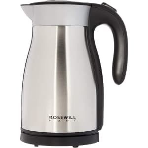 Rosewill 1,500W Insulated 1.7L Electric Kettle for $44