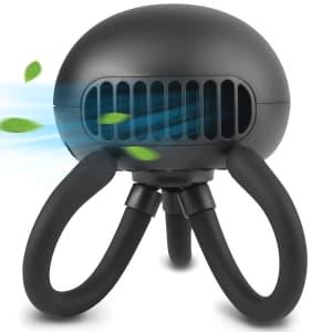 Andrti Bladeless Portable Stroller Fan for $15