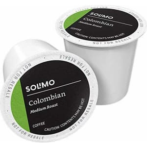 Solimo Coffee K-Cup Pod 100-Pack for $19 w/ Prime