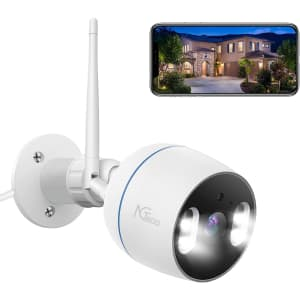NGTeco 1080p WiFi IP Security Camera for $20