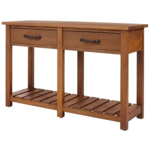 """Home Decorators Collection Danforth 48"""" Wood Console Table for $275"""