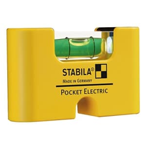 Stabila Inc. STABILA 17775 Pocket Electric Spirit Level for $25