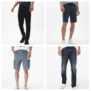 Men's Jeans, Shorts, and Tech Joggers at Aeropostale: Buy 1, get 2nd free