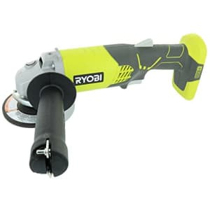 Ryobi P421 6500 RPM 4 1/2 Inch 18-Volt One+ Lithium Ion-Powered Angle Grinder (Battery Not for $45