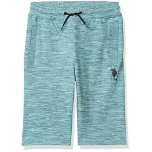 U.S. Polo Assn. US Polo Assn Boys' Shorts, Injection Horizon Blue Injection, 18 for $14