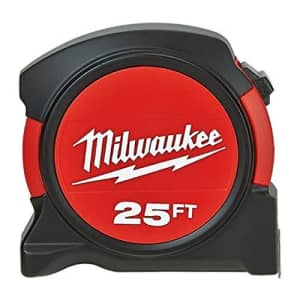 Milwaukee 48-22-5525 25' General Contactor Tape Measure for $32