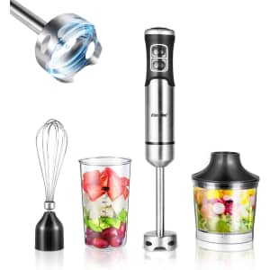 Comfee 4-in-1 Multifunctional Hand Blender Set for $40