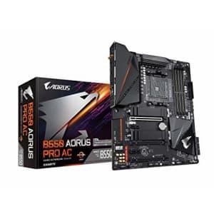 GIGABYTE B550 AORUS PRO AC (AM4 AMD/B550/ATX/Dual M.2/SATA 6Gb/s/USB 3.2 Gen 2/Intel Dual Band for $136