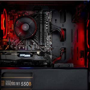 Skytech Chronos Mini Gaming PC Desktop - AMD Ryzen 3 3100, NVIDIA GTX 1650 4GB, 8GB DDR4, 500GB for $775