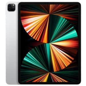 "Apple iPad Pro 12.9"" 256GB WiFi Tablet (2021) for $999"