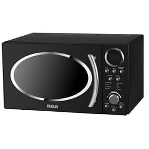 RCA RMW987-BLACK 0.9 cu. ft. Retro Microwave, Black for $150