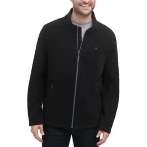 Tommy Hilfiger Men's Classic Zip Front Polar Fleece Jacket for $24