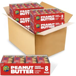 RItz Peanut Butter Sandwich Crackers 48-Pack for $13 via Sub & Save