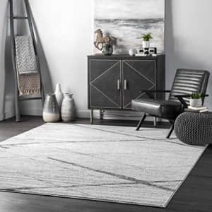 nuLOOM Thigpen Contemporary Area Rug, 4' x 6', Grey for $42