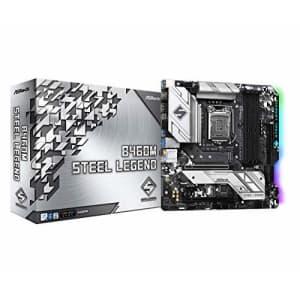 ASROCK B460M Steel Legend Supports 10th Gen Intel Core Processors(Socket 1200) Motherboard for $118