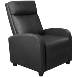 Latitude Run Faux Leather Massage Chair for $134