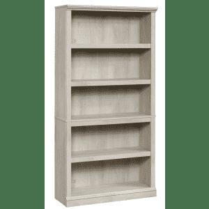 "Sauder Select 70"" 5-Shelf Standard Bookcase for $113"