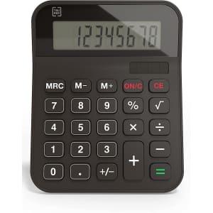 TRU RED 8-Digit Desktop Calculator for $4