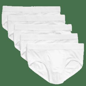 Old Navy Men's Soft-Washed Built-In Flex Briefs 5-Pack for $10 in cart
