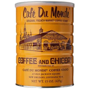Cafe Du Monde 15-oz. Coffee and Chicory for $8