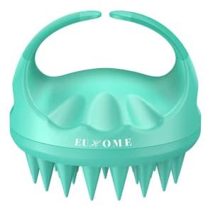 Euhome Scalp Massager Shampoo Brush for $4