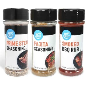Happy Belly Grilling Spices Set for $6
