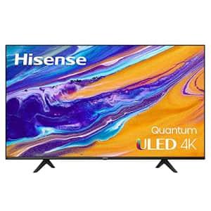 Hisense ULED 4K Premium 55U6G Quantum Dot QLED Series 55-Inch Android Smart TV with Alexa for $550