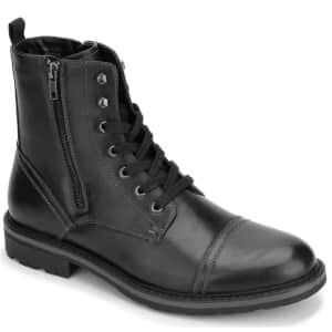 Unlisted by Kenneth Cole Men's Captain Boots for $34